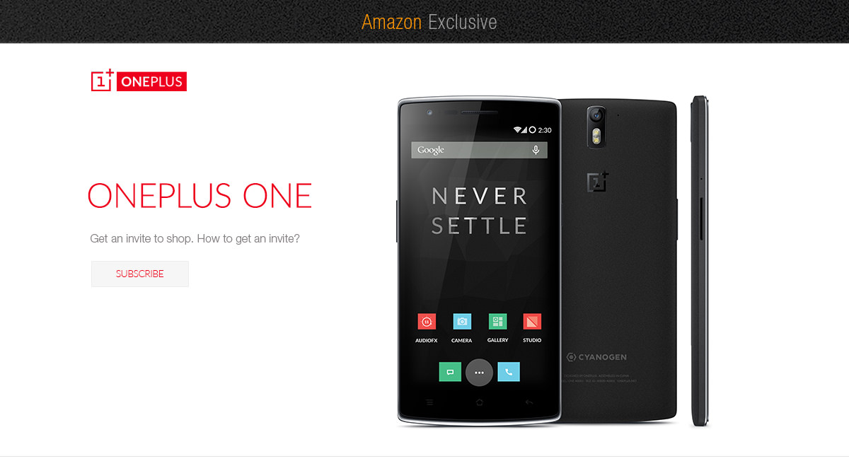 Get an invite for OnePlus One officially from Amazon.in