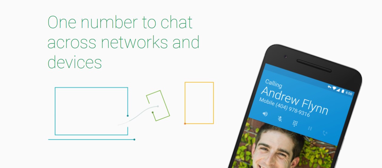 Project Fi. Now you don't necessarily need a mobile to call or text.