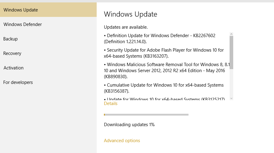 Stop Automatic Updates on Windows 10