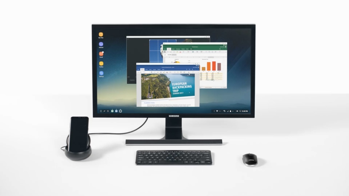 The future of portable computing. Ft. Samsung Dex, Project Linda.